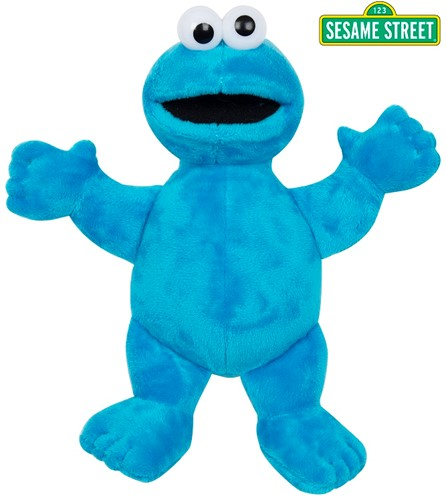 Sesamstraat Pluche Cookie Monster Gift 25cm