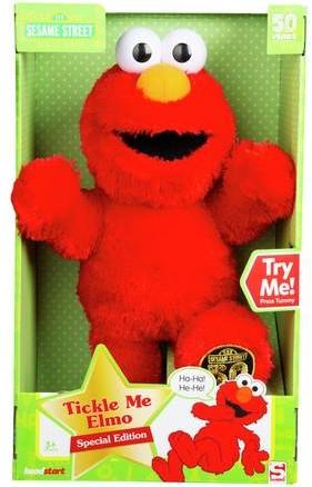 Sesamstraat Tickle Me Elmo B/O 40cm