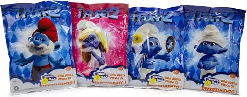 Lucky Bag XL Smurfs 4 assorti 24x33cm