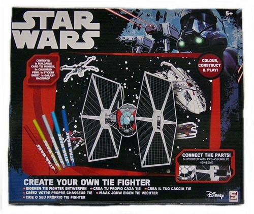 Star Wars Roque Create your own Tie Fighter 25x30cm
