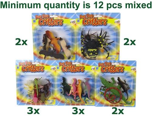Fun Toy Critters assorti 17x20cm