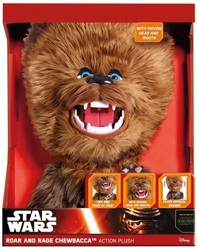 Star Wars Pluche Roar and Rage Chewbacca Action Plush met geluid en beweging 33cm