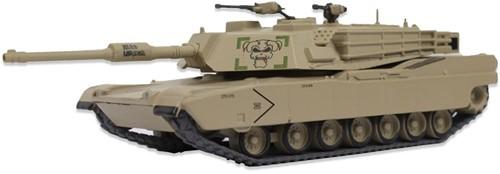 Tank 1 Die-Cast (M1 Abrases) 14cm (Verzendverpakking beschadigd / lijmresten, artikel onbeschadigd)