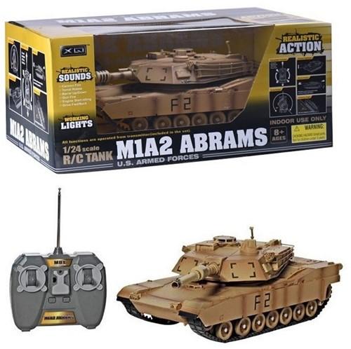 RC Tank M1A2 Abrams 1:24 20x45cm