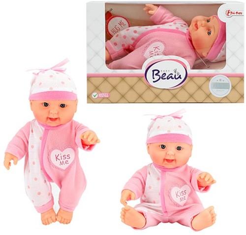Babypop in vensterdoos 22,5cm4 assorti