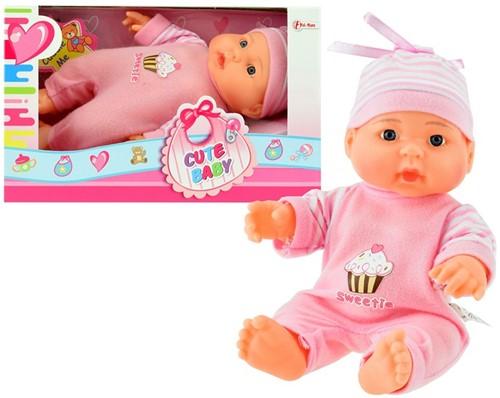 Babypop in vensterdoos 22,5cm Sweety