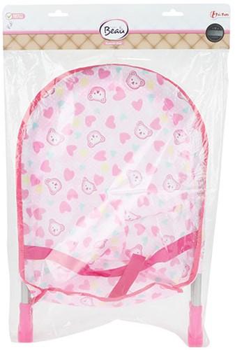 BEAU Roze wipstoel voor babypop