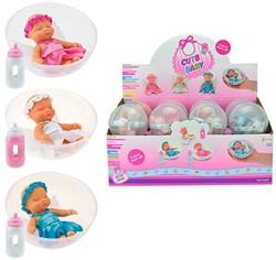 Babypop in bal 3 assorti in display