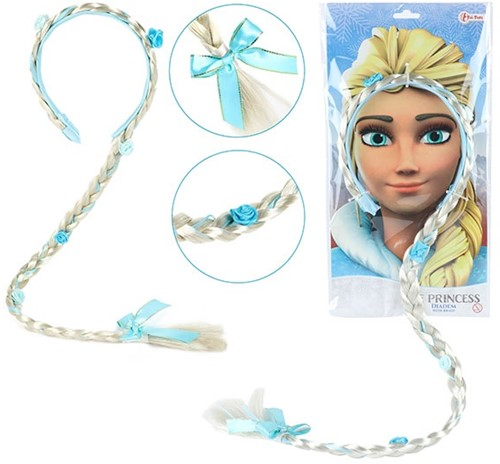 ICE PRINCESS Diadeem haarvlecht prinses
