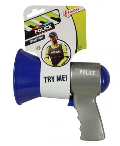 Megafoon Politie