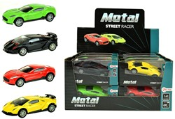 Auto Die-Cast Pull Back 1:43 12 assorti in display