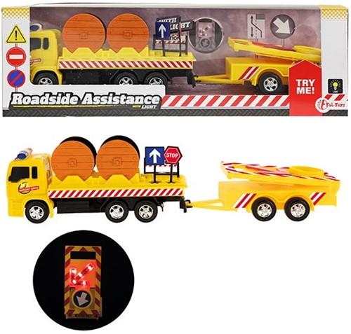 Vrachtauto werkverkeer met pijlwagen accessoires 32cm