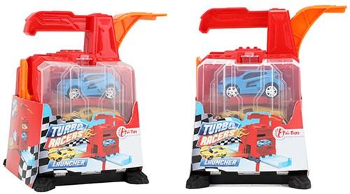 TURBO RACERS Autoschieter 'Garage' incl. 2 auto's