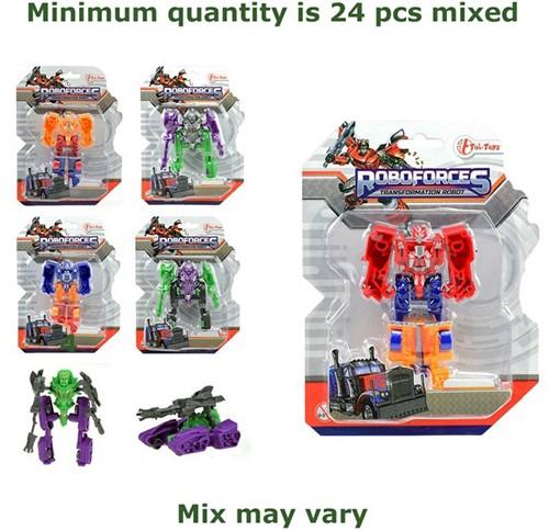 Robot Warrior Team assorti 10cm