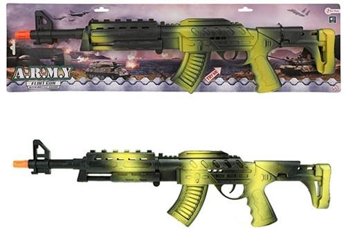 ARMY Ratelgeweer AK47 zwart groen 61cm