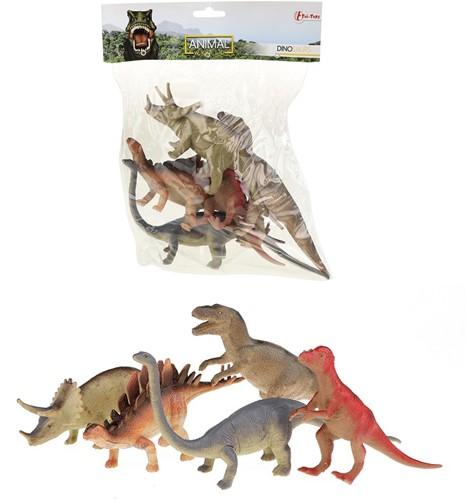 Dinosaurussen Deluxe in zak 5 stuks