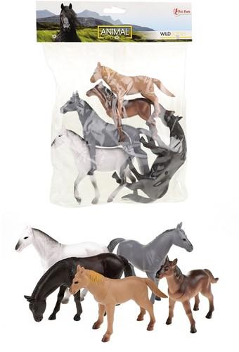 Paarden Deluxe in zak 5 stuks