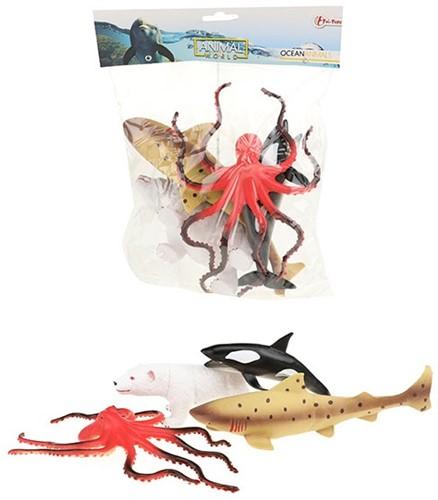 ANIMAL WORLD Zeedieren deluxe 5 stuks in zak