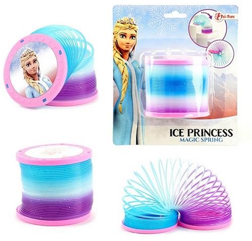 ICE PRINCESS Loopveer met glitters Ø 7,5cm
