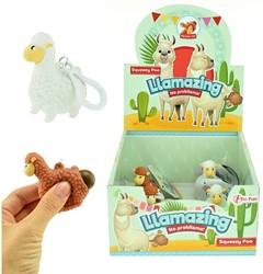 Knijp Poo Alpaca 2 assorti 24 stuks in display