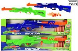 Foam Blaster Shotgun met 6 pijlen 2 assorti