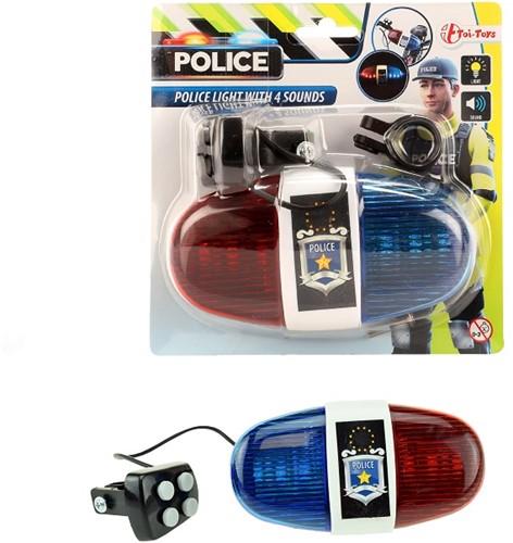 Police verlichting/geluid voor fiets exclusief batterijen