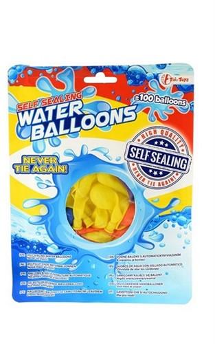Zelfsluitende waterballonnen 100 stuks in zak