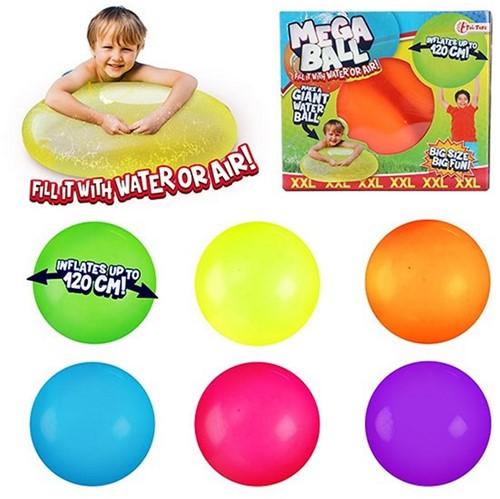 """Mega Ball XXL """"Puffer of Water"""" Ø 120cm 6 assorti 16x18cmMega Ball XXL """"Puffer of Water"""" Ø 120cm 6 assorti 16x18cm"""
