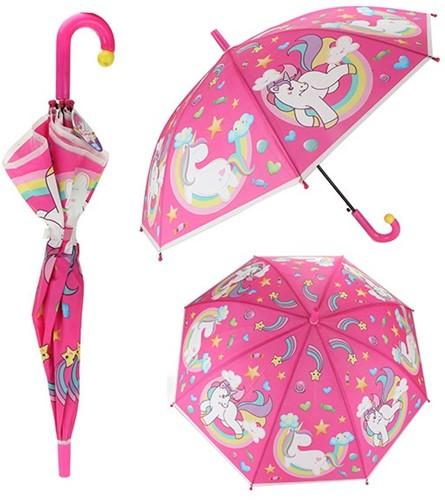 Paraplu met eenhoorns Ø80cm Automaat
