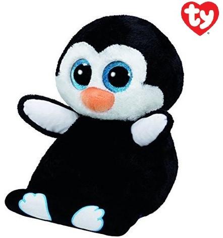 TY Pluche Tablethouder Pinguin met Glitter ogen Penni 32cm