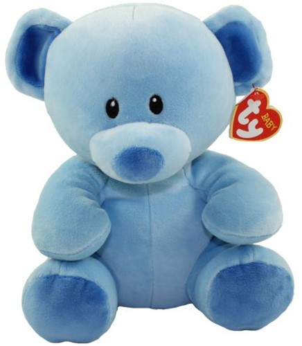 TY Pluche Beer Blauw Lullaby 24cm