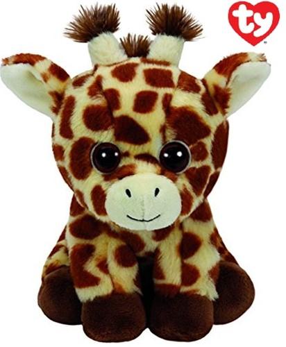 TY Pluche Giraffe met Glitter ogen Peaches 24cm