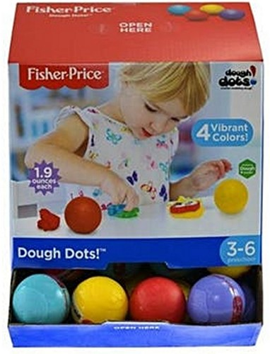 Fisher-Price Dough Dots in display (40)