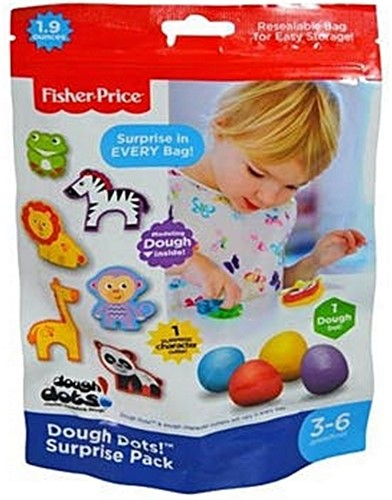 Fisher-Price Dough Dots Single Foil Bag