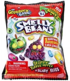Blind Bag Grossery Gang Smelly Beans verzamelfiguren assorti